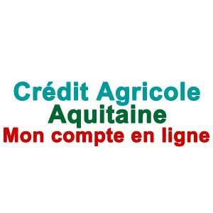 CRCA Aquitaine Mon compte en ligne - www.ca-aquitaine.fr